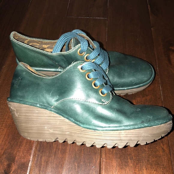 a7934048a102d Fly London Shoes | Womens Size 41 Lace Up Leather Booties | Poshmark